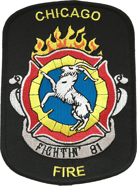 Chicago Fire - Fighting 81 - Patch/Aufnäher