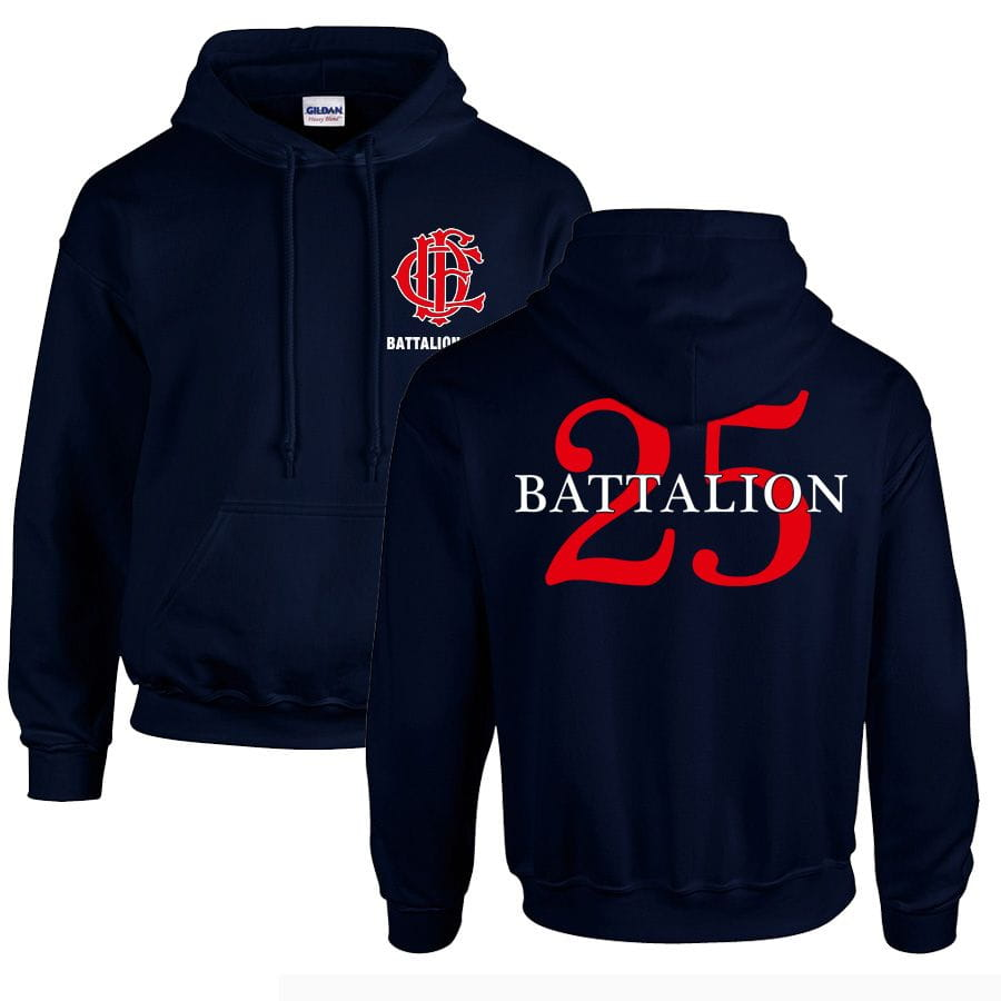 Chicago Fire Dept. - Battalion 25 Pullover mit Kapuze