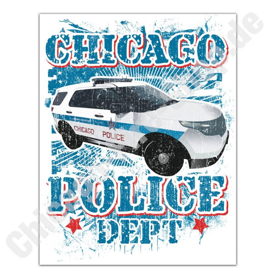 Chicago Police Dept. sticker