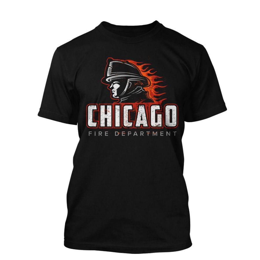 Chicago Fire Dept. - T-Shirt in black