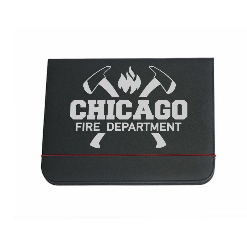 Chicago Fire Dept. - Schreibmappe (Axt Silver)