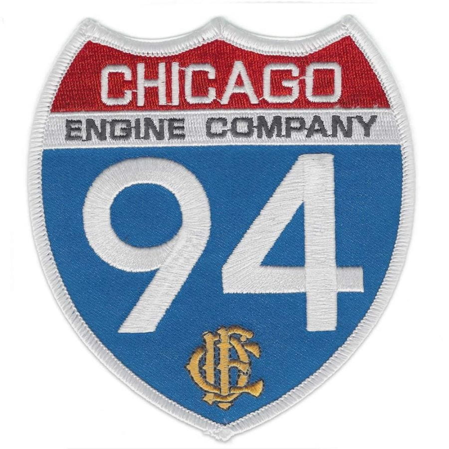 Chicago Fire Dept. - Engine Company 94 Patch / Patch